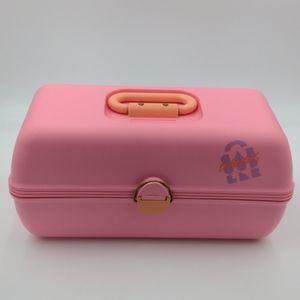 Vintage pink caboodles make up carrying case 90s